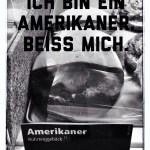 """""""I am an American. Bite me"""". It may sound crass, but an """"Amerikaner"""" is not only and American, it is also a delicious cookie."""