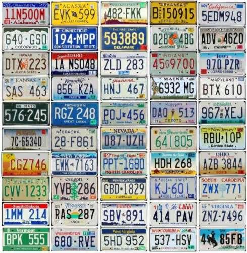 Auto mottoes: America's license plates