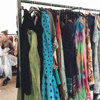 SHOPPING AT THE LONDON VINTAGE KILO SALE
