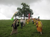 Glastonbury Goddess Conference 2012 procession