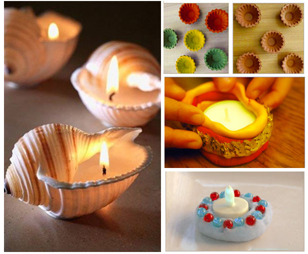 8 easy diy diwali decoration ideas for Home decorations ideas for diwali