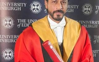Shahrukh Khan In His Edinburgh Speech