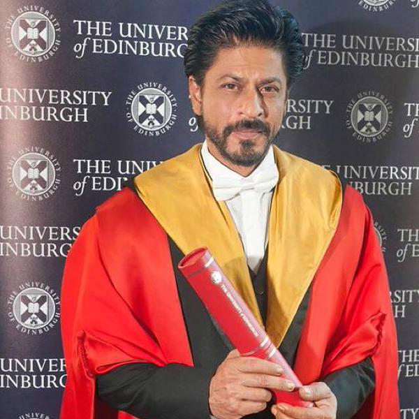 Shahrukh Khan In His Edinburgh Speech