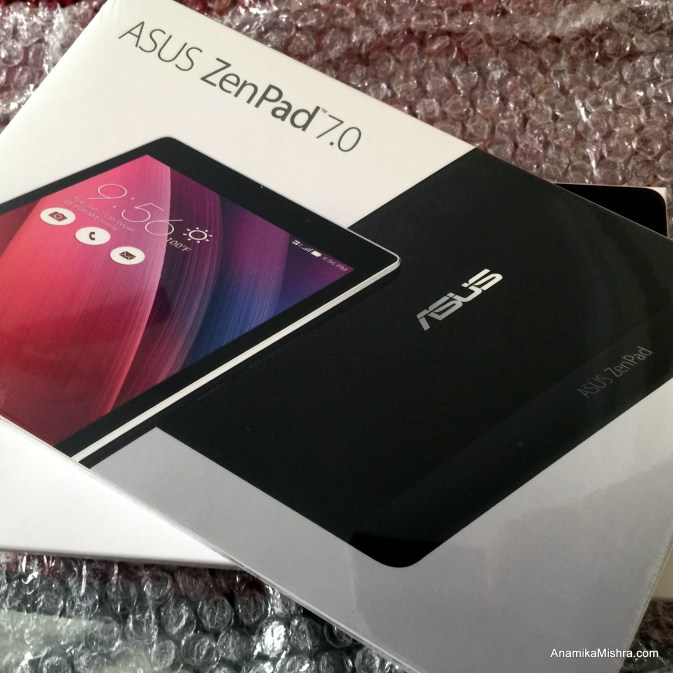 Meet Asus ZenPad 7.0, My Latest Addiction