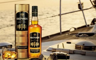 Hear The 100 Pipers Playing After A Sip! #BeRememberedforGood