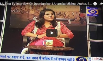 My First TV Interview On Doordarshan – 1 Nov 2016