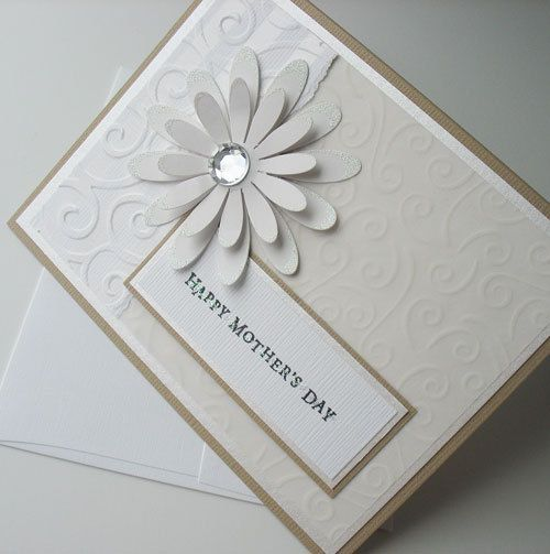 Beautiful Handmade Greeting Cards For Mother's Day