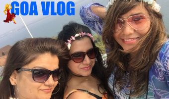 Goa Vlog – 3 Girls, 2 Scooties & Super Fun – Watch It