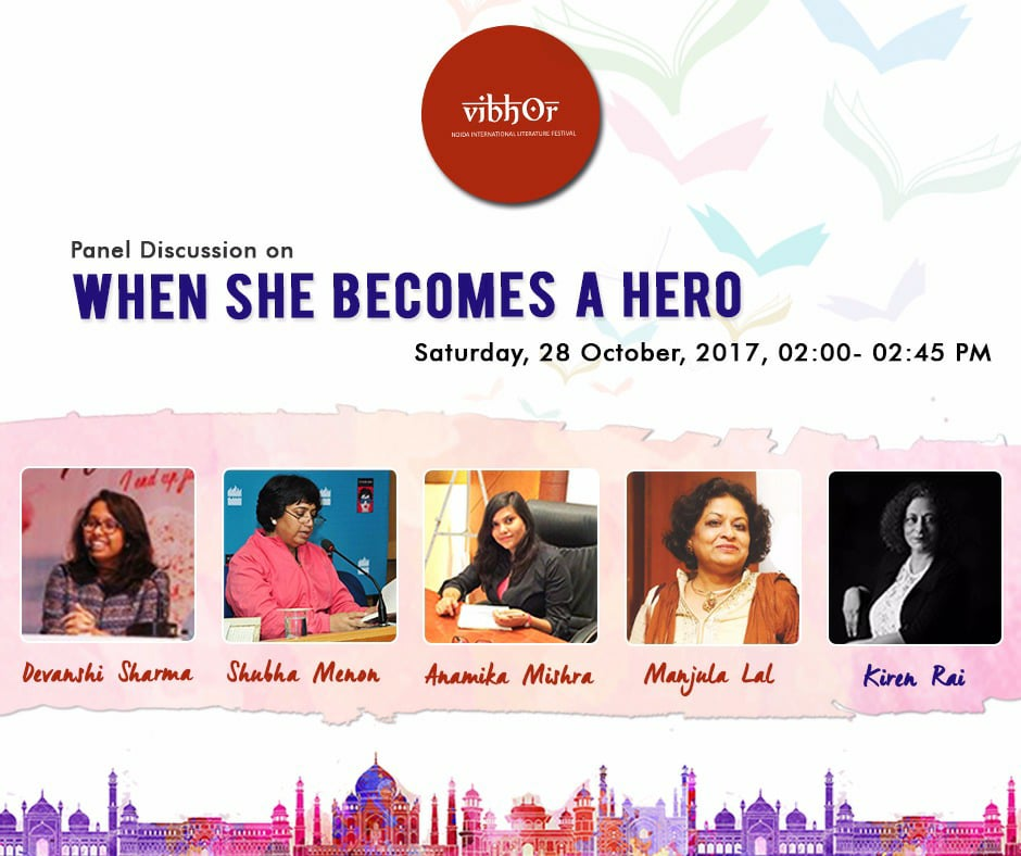 Cover Reveal Of 'FOR THE SAKE OF LOVE' In Noida International Literature Festival