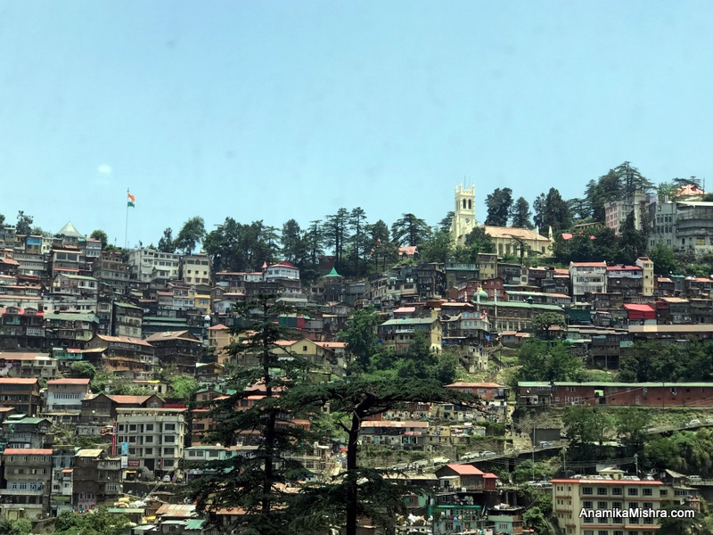 Christmas in Shimla, India
