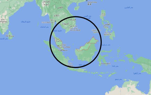 اين تقع ماليزيا على خريطة العالم تعرف على موقع ماليزيا على خريطة العالم انا مسافر