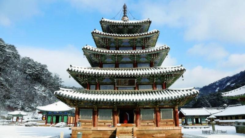 جميع مواقع التراث العالمي لليونسكو في كوريا الجنوبية