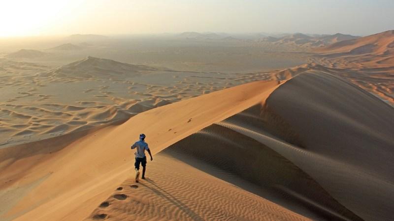 معلومات عن صحراء الربع الخالي