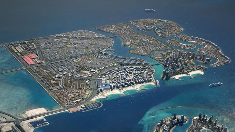أكبر الجزر في البحرين من حيث السكان
