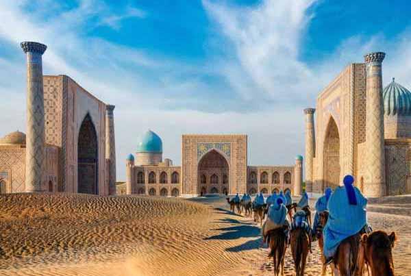 تاريخ موجز عن دولة أوزبكستان