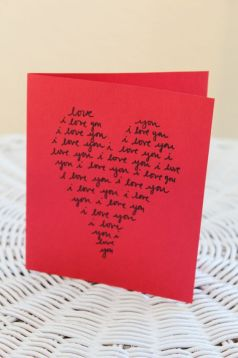 """valentines07 - Say """"I love you"""" with a heart - literally."""