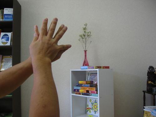 手のツボ右手と左手
