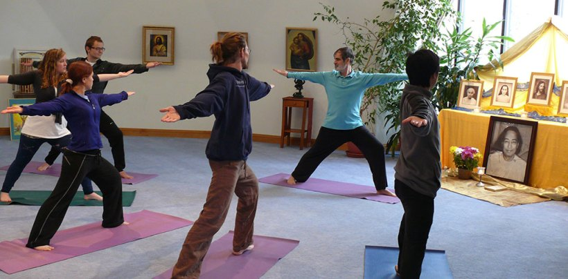 yoga course at ananda university