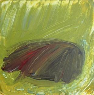 Newborn, 2017, 21 x 21 cm, Acrylic on MDF