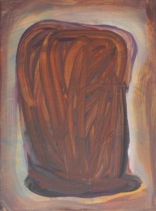 Toast, 2016, 24 x 18 cm, Acrylic on canvas