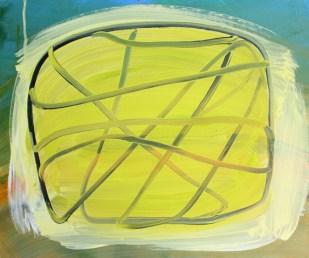 Wrapper, 2016, 50 x 60 cm, Acrylic on MDF