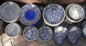 khurja pottery platters
