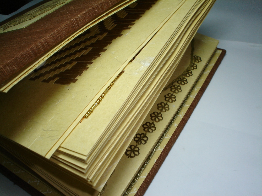 Scrapbook in Brass