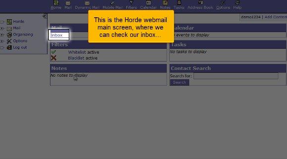 webmail inbox