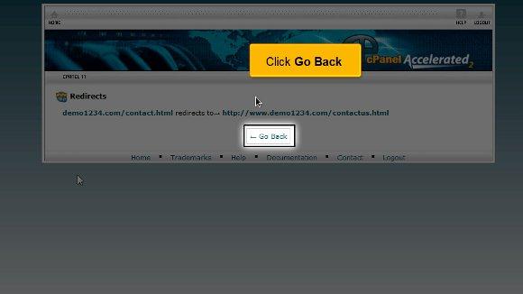 Domain redirect