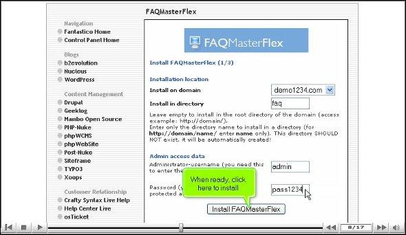 FAQ Master flex