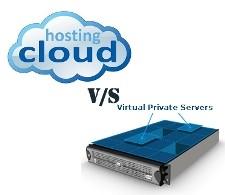 vps hosting vs. cloud hosting