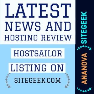 Hosting review Hostsailor