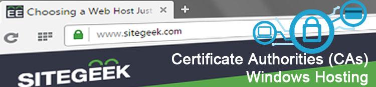 Certificate Authorities