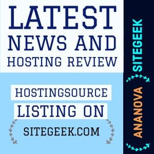 Hosting Review HostingSource