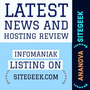 Hosting Review Infomaniak