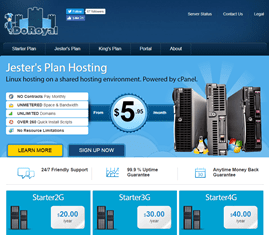 Hosting Review Doroyalservers