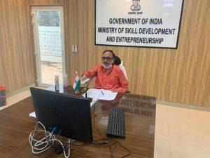 Dr. Mahendra Nath Pandey, Hon'ble Minister of Skill Development & Entrepreneurship