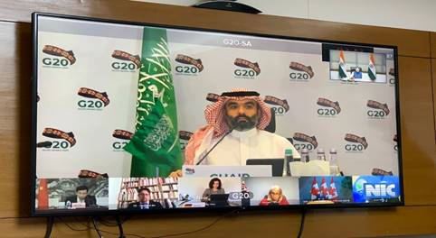 G20 Digital Economy Ministers hosted by Saudi Arabia