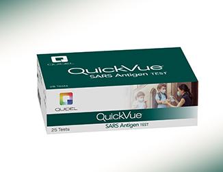 Quidel QuickVue At-Home COVID-19 Test. Quidel photo