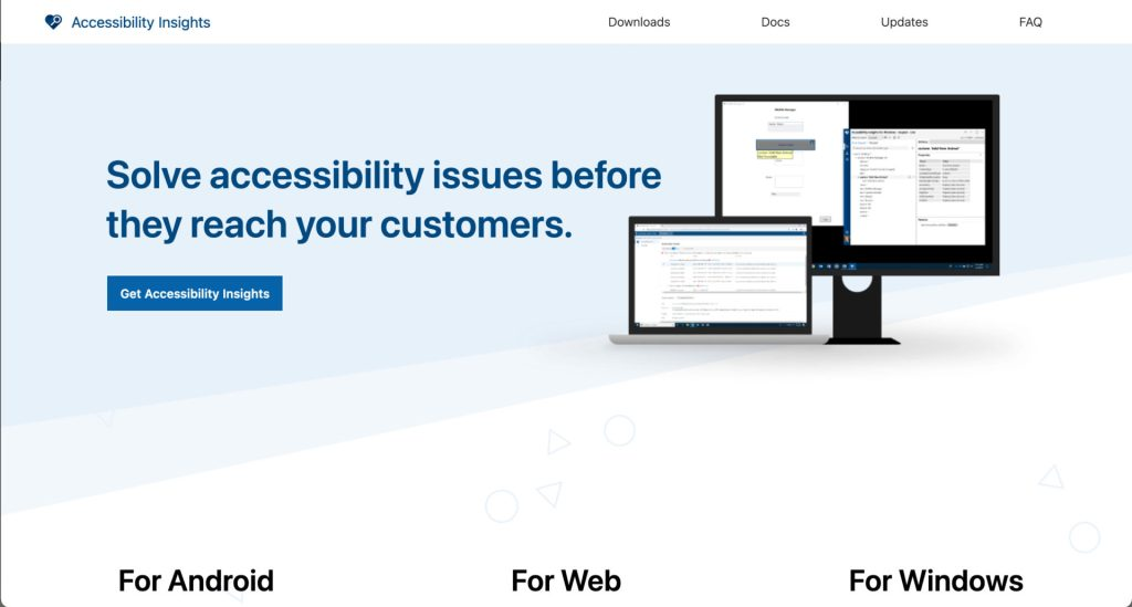 Solve accessibility issues before the reach you customers.
