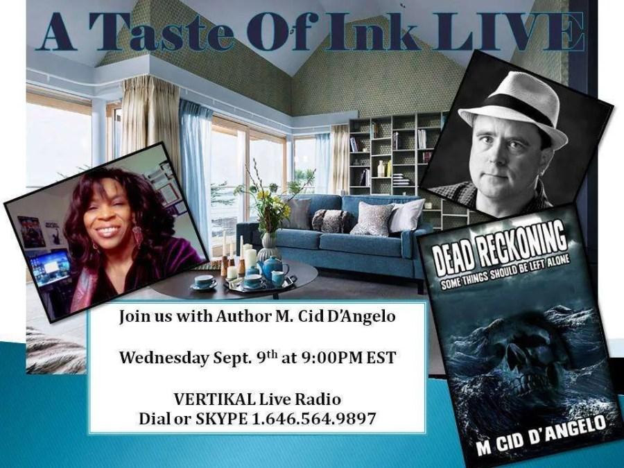 A Taste Of Ink LIVE with M. Cid D'Angelo