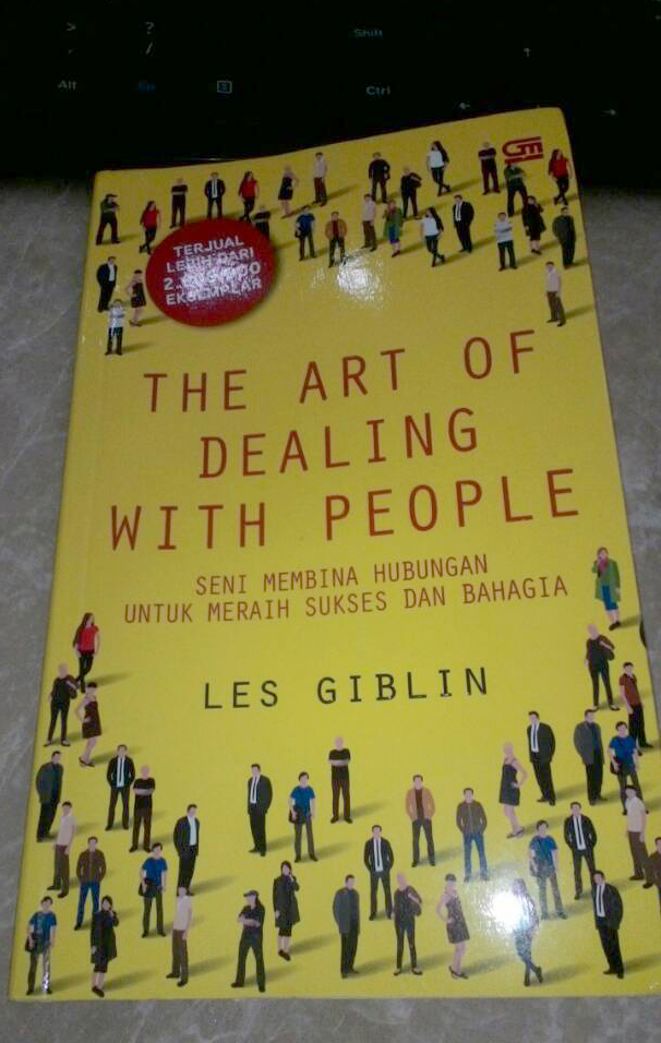Cover buku The Art of Dealing with People