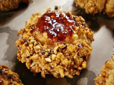jam thumb cookies