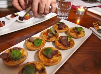 Butternut squash, Dolcelatté, walnut and honey tart