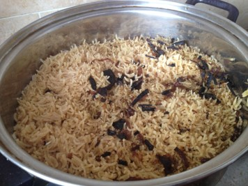 Rice and Hashoo