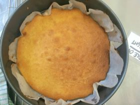Currys in the Kitchen- Victoria Sponge out of the oven