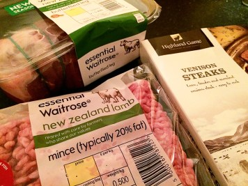 Ananyah- Waitrose Healthy Food Swaps- Red Meat Venison Lamb