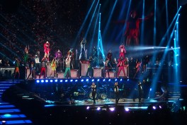 Take That Glasgow 2nd May 2015- Stage