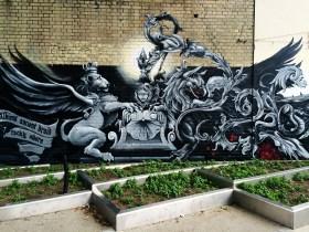 72 hours in London- City Road Street Art