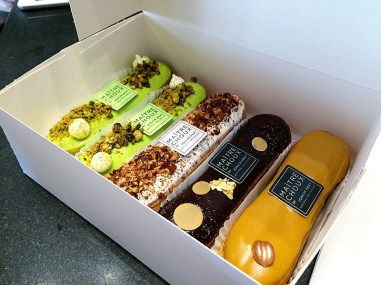 72 hours in London- Maitre Choux Eclairs